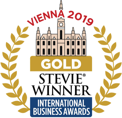 Stevie Winner Vienna 2019 Gold Award International business awards