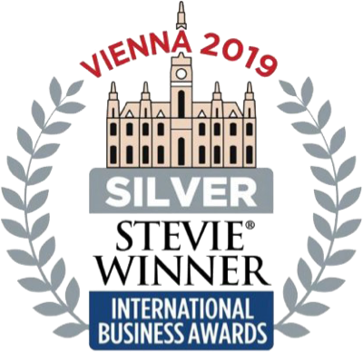 Stevie Winner Vienna 2019 Silver Award International business awards