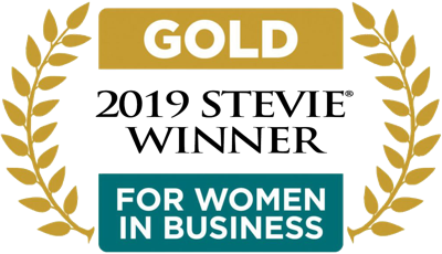 GOLD 2019 Stevie Winner for women in business